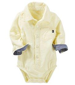 OshKosh B'Gosh® Baby Boys' Oxford Woven Bodysuit