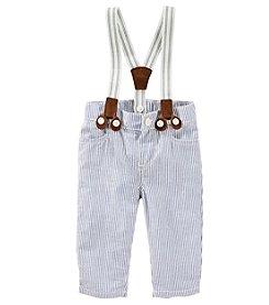 OshKosh B'Gosh® Baby Boys' Seersucker Pants And Suspenders
