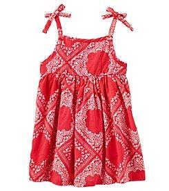 OshKosh B'Gosh® Baby Girls' Bandana Print Dress