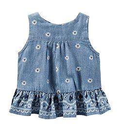OshKosh B'Gosh® Baby Girls' 12-24 Month Bandana Print Tank
