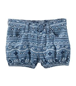 OshKosh B'Gosh® Baby Girls' Bandana Print Shorts