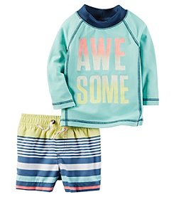 Carter's® Baby Boys Awesome Swim Suit
