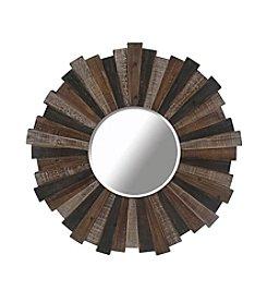 Ruff Hewn Wooden Plank Mirror