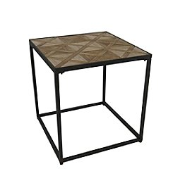 Ruff Hewn Patterned Table