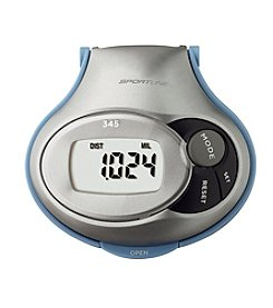 Sportline® 345 Steps, Distance and Calorie Pedometer