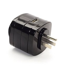 SwissGear® North & South America Grounded Adaptor Plug with 2.1A USB Port