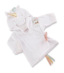 Baby Aspen Baby Girls' Simply Enchanted Unicorn Hooded Spa Robe