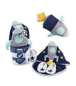 Baby Aspen Cosmo Tot Spaceship 4-Piece Bathtime Gift Set