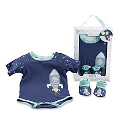 Baby Aspen Cosmo Tot Spaceship 2-Piece Layette Set