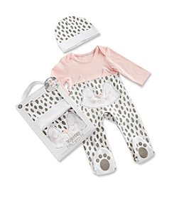 Baby Aspen Baby Girls' Trendy Baby Kitty 2-Piece Pajama Gift Set