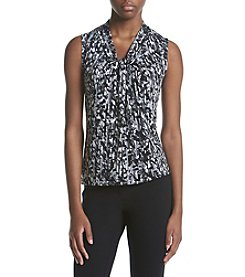 Calvin Klein Knot Front Printed Cami