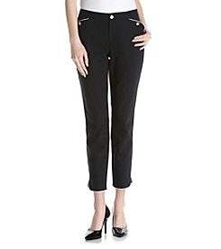 Ivanka Trump® Contrast Trim Compression Pants
