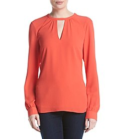 MICHAEL Michael Kors® Raglan V-Neck Top