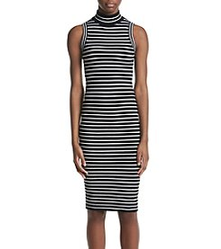 MICHAEL Michael Kors® Striped Rib Dress
