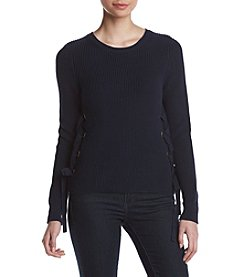MICHAEL Michael Kors® Lace Up Side Sweater