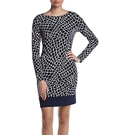 MICHAEL Michael Kors® Crocodile Printed Border Dress