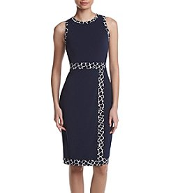 MICHAEL Michael Kors® Border Printed Sheath Dress