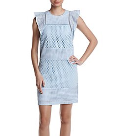 MICHAEL Michael Kors® Combo Eyelet Dress