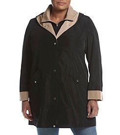 Breckenridge® Plus Size Solid Bibby Coat
