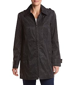 Breckenridge® Print Hooded Walker Coat