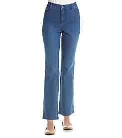 Gloria Vanderbilt® Petites' Micro Boot Cut Jeans