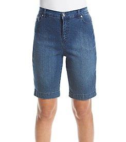 Gloria Vanderbilt® Petites' Amanda Bermuda Shorts