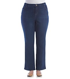 Gloria Vanderbilt® Plus Size Micro Boot Cut Denim Jeans