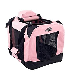 Petmaker Pink Portable Soft Sided Pet Crate