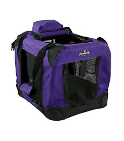 Petmaker Purple Portable Soft Sided Pet Crate