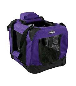 Petmaker Purple Portable Soft Sided Pet Crate
