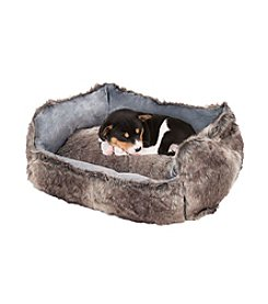 Petmaker Faux Fur Dog Bed