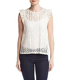 June & Hudson® Lace Blouse