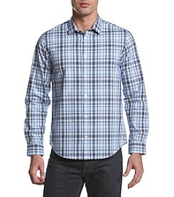 Calvin Klein Men's Long Sleeve Woven Plaid Shirt