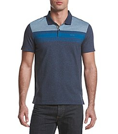 Calvin Klein Men's Short Sleeve Engineered Stripe Polo