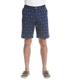 Le Tigre Men's Printed Tri-Flex Twill Shorts