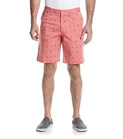 Le Tigre Men's Printed Twill Shorts
