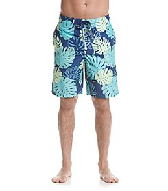 Le Tigre Men's Palm Leaf Swim Trunks