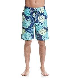 Le Tigre Men's Palm Leaf Swim Trunks