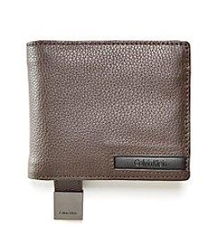 Calvin Klein Pebble Leather Wallet