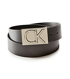 Calvin Klein 38mm Plaque Belt