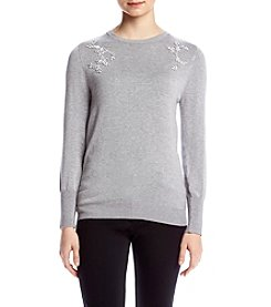 Ivanka Trump® Embellished Sweater