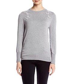 Ivanka Trump® Embellished Sweater