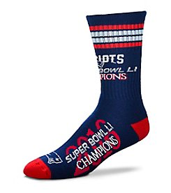 For Bare Feet NFL® New England Patriots 504 Super Bowl Socks