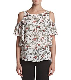 Max Studio Edit™ Cold Shoulder Top