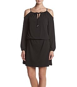 MICHAEL Michael Kors® Cold Shoulder Blouson Dress