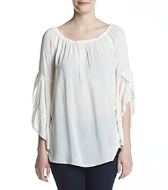 Fever™ Drop Shoulder Blouse