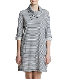 Fever™ Striped French Terry Dress