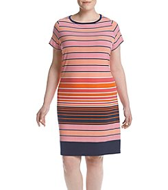 MICHAEL Michael Kors® Plus Size Striped Dress