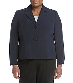 Kasper® Plus Size Two Button Jacket