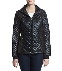 MICHAEL Michael Kors® Short Hooded Quilt Jacket